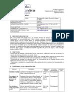 Programa Fundamentos de Sistemas Eléctricos de Potencia  2015