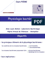 B2-Physiologie Bacterienne Diapos