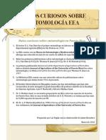 Datos Curiosos Sobre La Entomologia en Puerto Rico Hoja Informativa