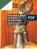 Procesado y Puesta en Servicio de Materiales