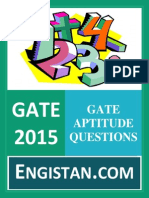 Gate Aptitude Questions