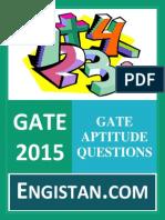 Gate Aptitude Questions