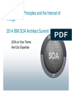 SOA Design Principles and the Internet of Things - Presentation