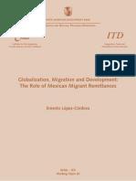 Globalization Migration and Development