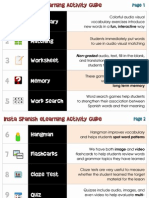Insta Spanish eLearning Activity Chart