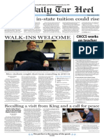The Daily Tar Heel for Jan. 16, 2015