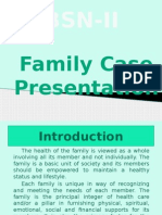 Family Case Presentation