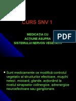 MedicaŢia Cu AcŢiune Asupra Sistemului Nervos Vegetativ