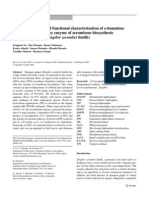 Molecular cloning and functional characterization of
