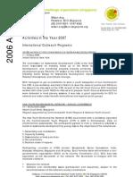 ECO Singapore 2006 Activities Report