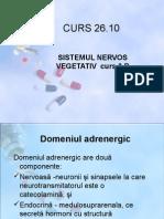 Sistemul Nervos Vegetativ Curs 3 b