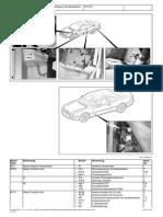 Anordnung Und Belegung Der Massestellen-Innenraum Links