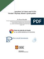 Russian Separatism in Crimea and Nato-Elena Mizrokhi