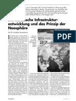 Die Europaeische Infrastrukturentwicklung Und Das Prinzip Der Noosphaere