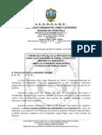 Comunicado Oficial de La Muy Respetable Gran Logia Soberana de Libres y Aceptados Masones de Venezuela, Ante Los Atentados Terroristas Ocurridos en Charlie Hebdo