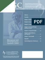 Menopause JOGC-Jan 09