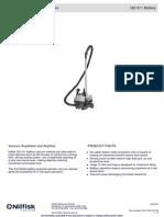 Nilfisk GD911 Battery Commercial Vacuum Cleaner