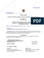 Regulamentul Cu Privire La Concursul de Selectare a Avocatilor Care Acorda Asistenta Juridica Garantata de Stat
