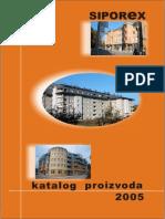 Siporex katalog 2005