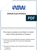 Arrow Electronics Case Solution