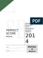 Modul Perfect Score Fizik SPM