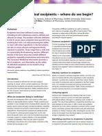 Handbook Of Pharmaceutical Excipients Pdf