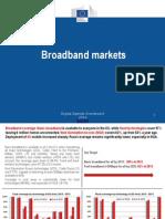 Digital Agenda Scoreboard Trends in European Broadband Markets 2014