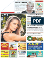 Jornal União - Edição da 1ª Quinzena de Janeiro de 2015