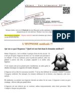 Dr FADDOUL - Lettre Du Cabinet - 2015 - T1