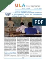 Boletín de Aula Intercultural - Diciembre 2014