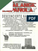 Falange Española nº 4. Julio 1987.