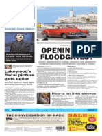 Asbury Park Press front page Friday, Jan. 16 2015