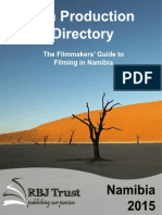 Film Production Directory 2015 Edition New Draft