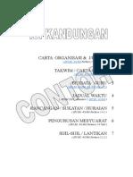 Contoh Keperluan Minima Folder Panitia