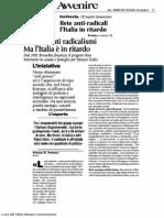Prevenzione dei radicalismi violenti in Europa, l'Italia è in ritardo
