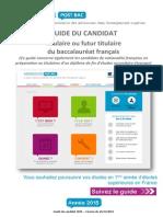 Guide Du Candidat 2015