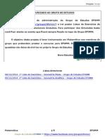 3_ Lista de Exercícios - Geometria Espacial- Grupo de Estudos - Projeto Jorge