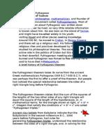 Biography of Pythagoras