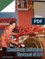 Majalah Bhumi Bhakti Edisi 12 Desember 2012