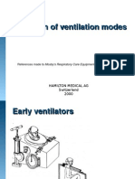 Modes of Ventilation