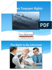 Ten Taxpayer Rights You should Know