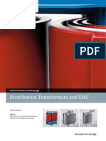Distribution Transformers and EMC