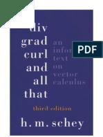 Div.grad.Curl.and.All