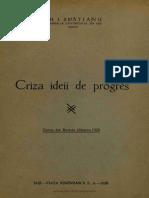 Criza Ideii de Progres