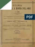 Bogdan Petriceicu Hasdeu - Istoria Critică a Romanilorŭ Din Ambele Dacie În Secolulŭ XIV. Tomu I, Volumu I - Pamentulŭ Țerreĭ Romanescĭ