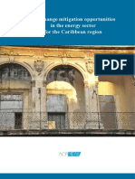 Climate Change Mitigation Opportunities  in the Energy sector for the Caribbean Region (2014)