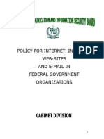 Email Policy by Cabinet Division (NTISB)
