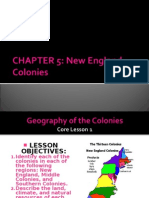 CHAPTER 5 New England Colonies