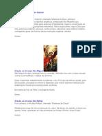 Oração São Gabriel, São Miguel e São Rafael