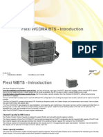 Flexi WCDMA BTS - Introduction